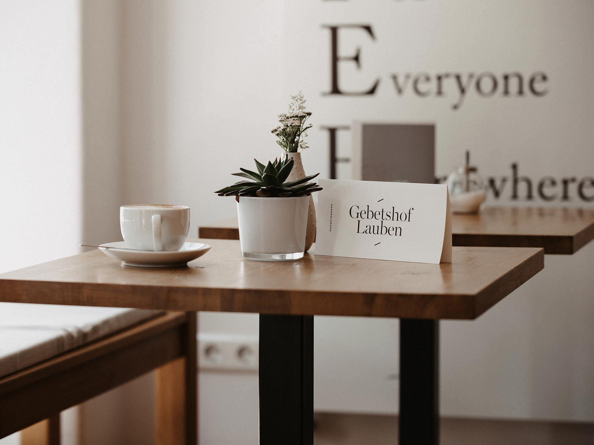 Sei dabei ... im Hofcafé Lauben