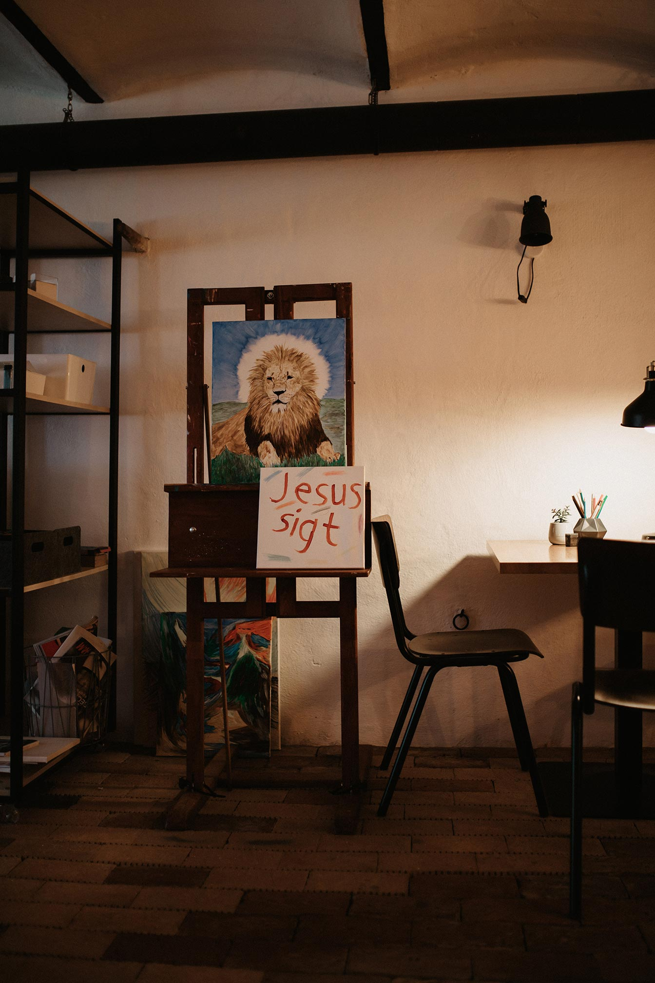 Kreativ im Hoflicht Gebetsraum Gebetshof Lauben