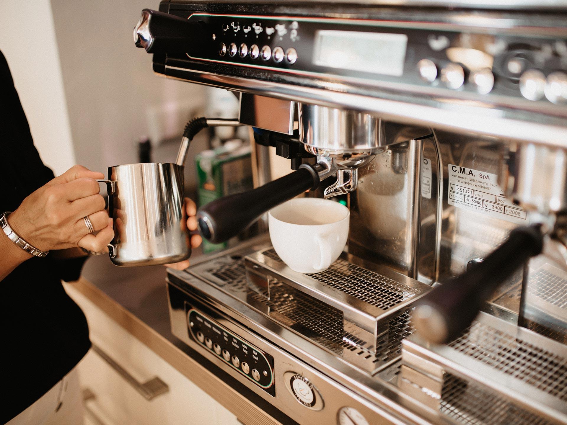 Italienischer Kaffee in Lauben im Unterallgäu
