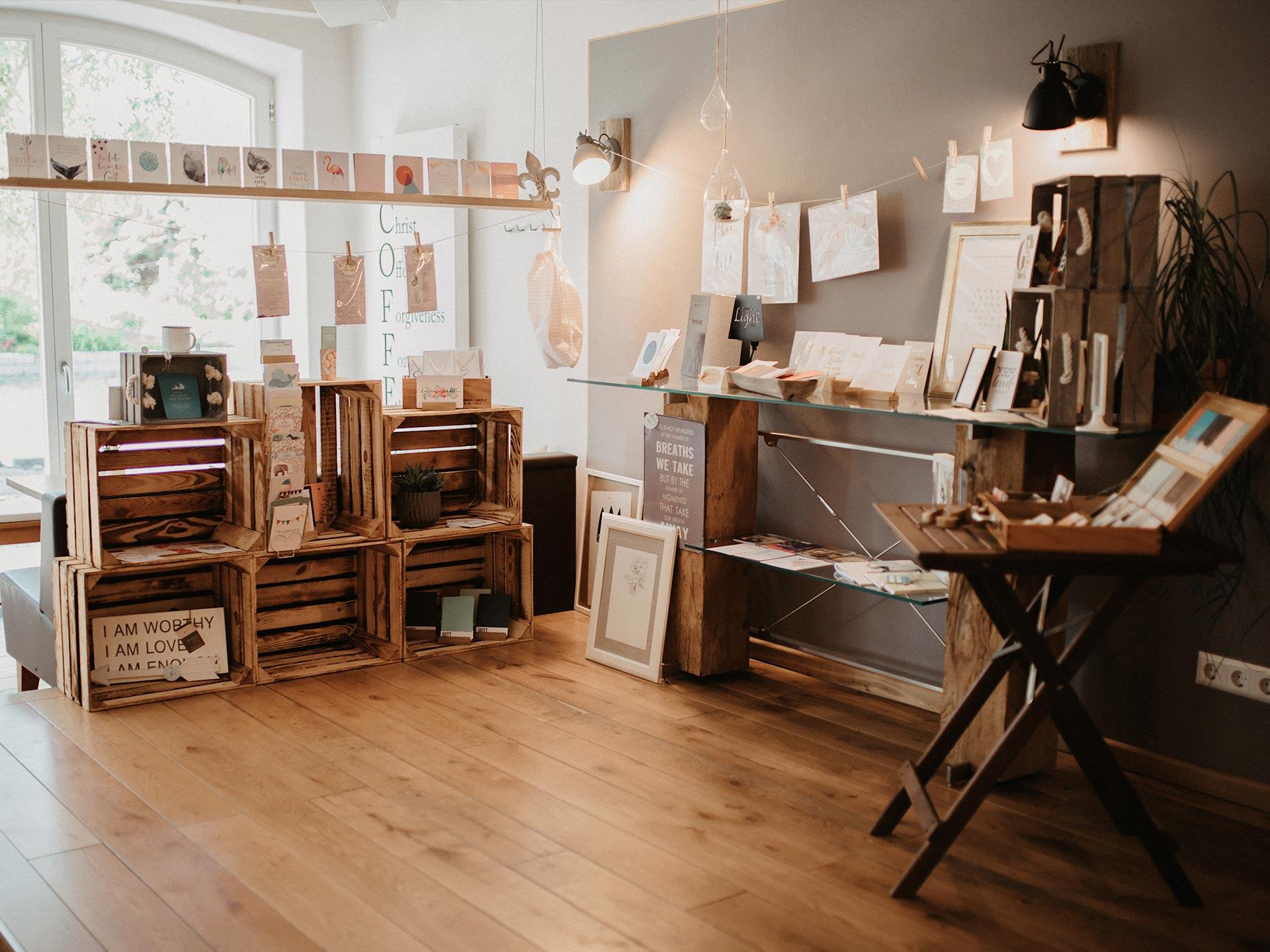 Shop im Hofcafé Lauben